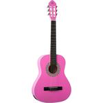 Eko CS5 Pink, 3/4 size guitar classical